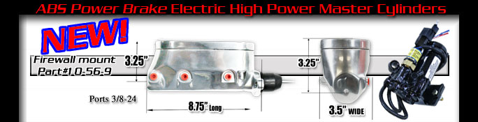 Abs Brake S Unique Electric High System Is Designed To Install Easily Look Great And Perform Even Better